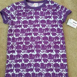 Purple cat Liv